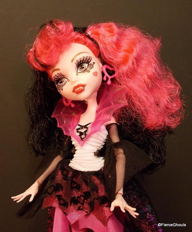 Draculaura Monster High Doll Fierce Ghouls