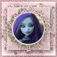 Monster High Printable Scrapbook ~Spectra
