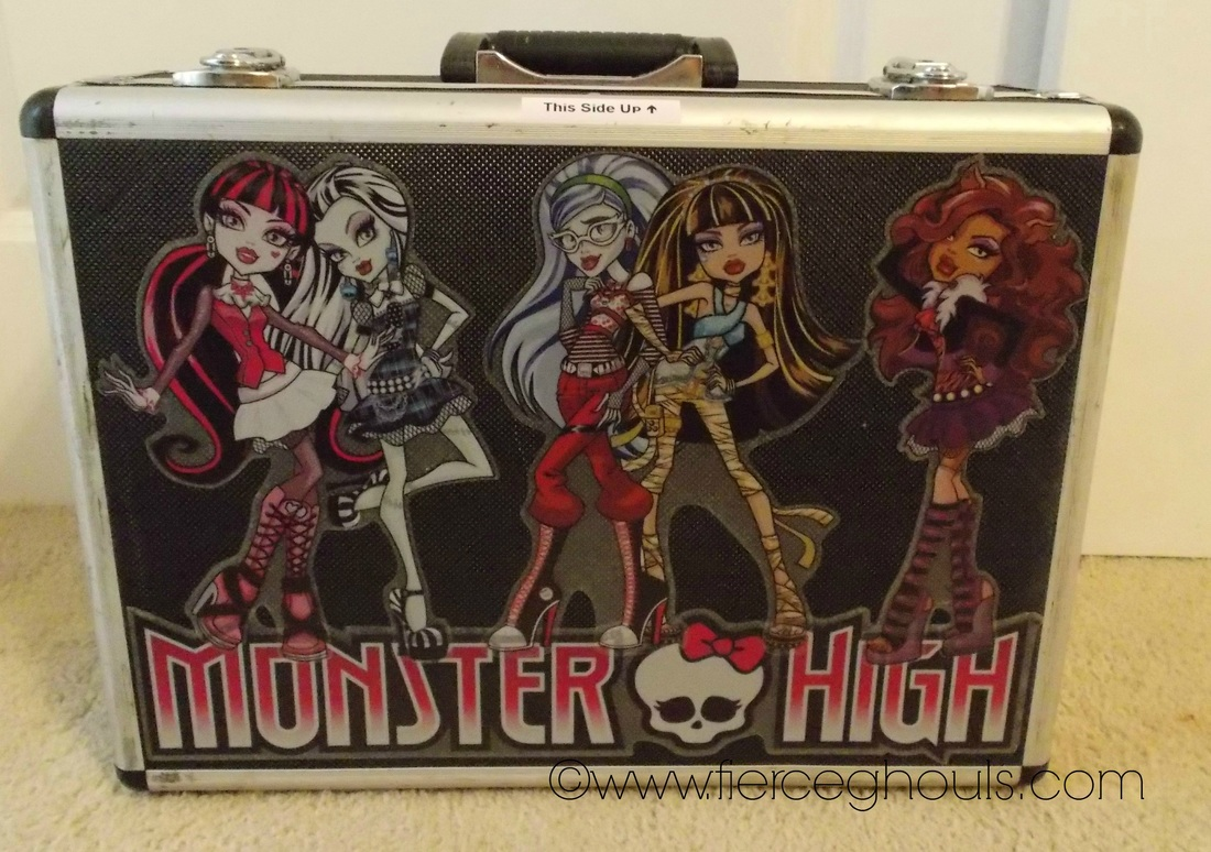 Fierce Ghouls Monster High Doll Case Front