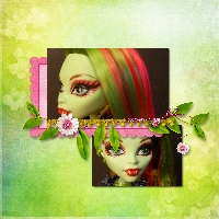 Monster High Printable Scrapbook ~Venus