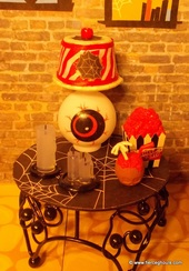 Monster High dollhouse lamp tutorial