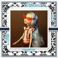 Monster High Printable Scrapbook ~ Dead TiredGhoulia