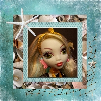 Monster High Printable Scrapbook ~Lagoona