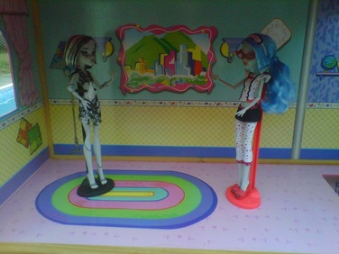 Monster High Dolls Frankie & Ghoulia