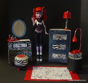 Monster High Operetta DIY Furniture