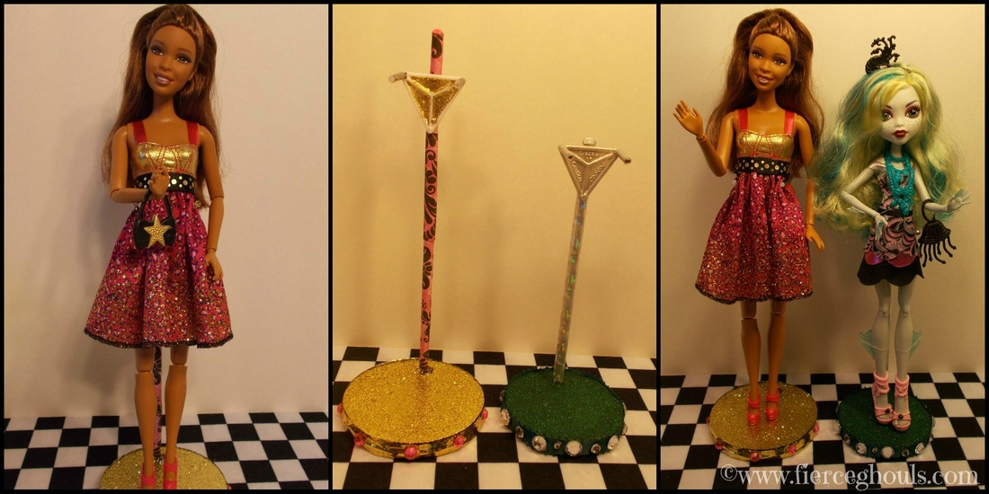 DIY Barbie Stand