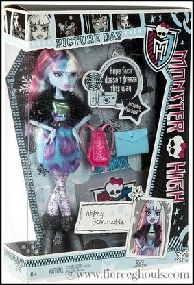 Fierce Ghouls Monster High Abbey Bominable Giveaway