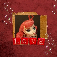Monster High Printable Scrapbook ~ Cupid