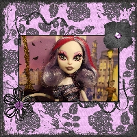 Monster High Printable Scrapbook ~Catrine