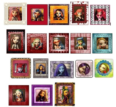Monster High printable photos