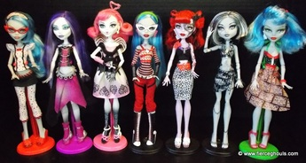 Monster High Dolls~ Fierce Ghouls