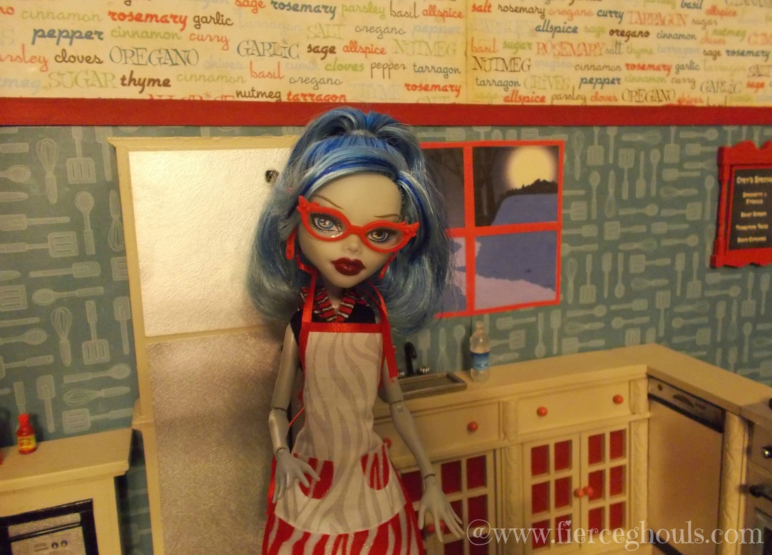Ghoulia's Kitchen ~ Fierce Ghouls