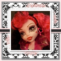 Monster High Printable Scrapbook ~ Ghouls Rule Draculaura