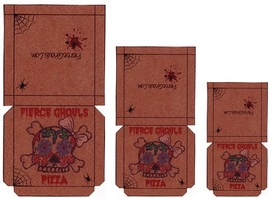 Monster High Printable Pizza Boxes