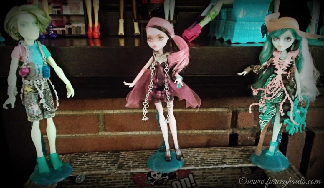 Fierce Ghouls Monster High Dolls