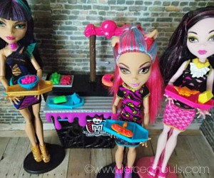 Fierce Ghouls Monster High Doll Food Tutorials